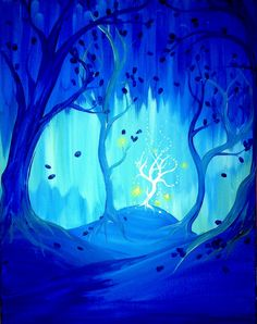 """Moonlit Forest""  Under Paid :)"