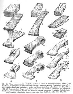 Axe head making