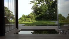 kengo kuma / water cherry house / bath embedded into the ground