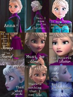 Of course I wanna build a snowman...I might cry!