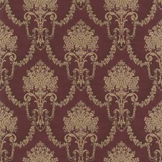Trianon XI 514964 · rasch · finest wallpapers made in Germany Doll House Wallpaper, Victorian Wallpaper, Parents Room, Blue Color Schemes, Pattern Art, Kobe, Bohemian Rug, Germany, Ornament
