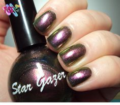 307 :: Star Gazer | Tudo Sobre Esmaltes    http://tudosobreesmaltes.com/2012/07/15/307-star-gazer/