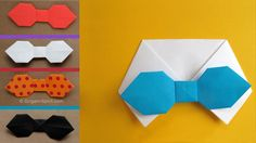 Origami tutorial and video instruction on how to make a bow tie. This is a traditional origami figure. SUBTÍTULOS EN ESPAÑOL • Leyla Torres Origami Spirit Vi...