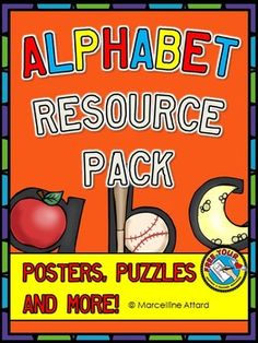 This is a very useful resource containing 49 pages.  This document includes: •large alphabet display cards with useful guidelines indicating how each letter should be written within the lines •smaller alphabet cards to be given individually to students together with matching picture flashcards •jigsaw puzzle game where students can match the letter with the corresponding picture.   #alphabet  #ABC  #JIGSAWPUZZLE  #POSTERS