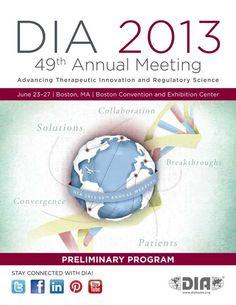 DIA 2013 49th Annual Meeting - Preliminary Program