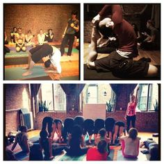 A.M.: Take a class at Yoga to the People. | Free Stuff To Do Every Day In NYC