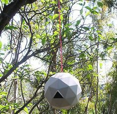 Geodesic Dome Birdhouse