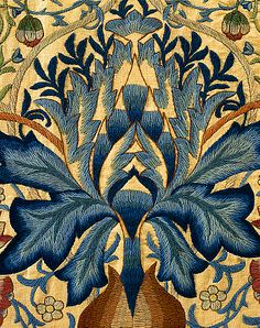 The Artichoke, by William Morris. England, late 19th century