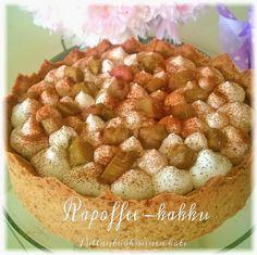 Pullantuoksuinen koti: Rapoffee kakku - Rhuboffee cake
