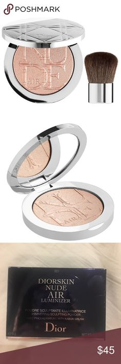 ✨NEW Dior highlighter luminizer ‼️NEW  ‼️Never used or swatched  ‼️Beautiful shade  ‼️Beautiful glow  ❌No Trades Sephora Makeup Luminizer