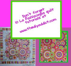 So much information about the La Passacaglia Quilt at www.thediyaddict.com #lapass #lapassacaglia #epp #englishpaperpiecing #lapassquilt