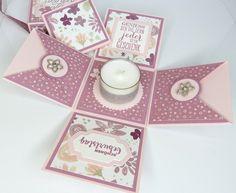 Geschenke für Frauen - Explosionsbox Magic Box zum Geburtstag