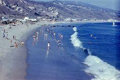Photo: Carbon Beach,Malibu,California.