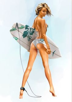sexy artwork | Speck of Spice – Pin-Up Style. Part II. | 3D Models, Website ...