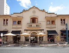 Foto de Hotel Estalagem Do Café em  Poços de Caldas/MG:  Fachada do Hotel Estalagem do Café.