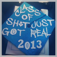 My College Graduation Cap but c/o 2016 lol