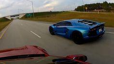 Video: Drag Race: Tesla Model S P85D vs. Lamborghini Aventador LP 700-4 - Read more: http://tagmyride.mobi/video-drag-race-tesla-model-s-p85d-vs-lamborghini-aventador-lp-700-4/ #automotive #tagmyride