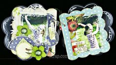 album akrylowy od Mirabeel w kształcie kwiatka Singing, Lunch Box, Base, Scrapbook, Bento Box, Scrapbooking, Guest Books, Scrapbooks