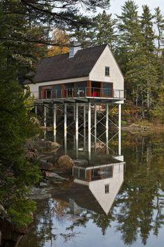 Pond House on  Mount Desert Island.....MAINE