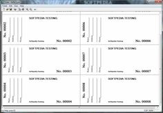 Printable Event Tickets Print Raffle Tickets Using A Template In Office Word 2016  F.y.i .