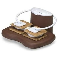 THe S'Mores Maker is a campus essential for cooking food in your dorm room. This dorm cooking appliance is a fun dorm item that will let you make great desserts in college. Cooking in college should be fun and easy and will be with right dorm supplies.