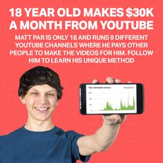 Earn Money Off Youtube Earn Money Easily, Way To Make Money, Make Money Online, How To Make, Start Youtube Channel, Hiring Employees, Youtube Website, Video Editing, Viral Videos