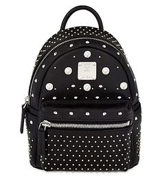 3987ae6ca344 MCM Stark Special Bebe-Boo Leather Backpack.  mcm  bags  leather  backpacks