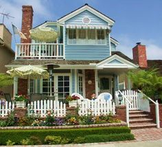 Balboa island has some of the cutest beach cottages :)