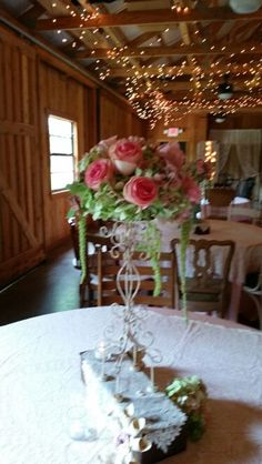 Centerpieces  from this weekends wedding. Moonflower  Cottage.
