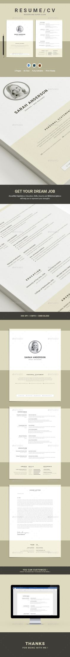 Clean Resume CV Template Free PSD Cv template, Resume cv and Psd - resume customization reasons