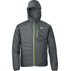 ultra-light rain jacket, packs as small as an apple and weighs the same. Outdoor Research Helium II - Editors Choice Backpacker Magazine