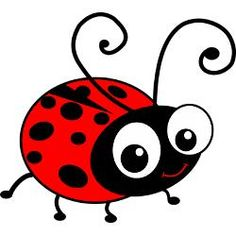 cute ladybug cartoon clip free vector for free download about 5 rh pinterest co uk cute ladybug clip art free cute ladybug clipart black and white