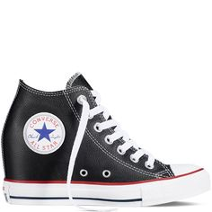 Converse - Chuck Taylor All Star Lux Wedge - Black - Mid