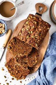 The Best Easy Pumpkin Bread Recipe made from scratch without a mixer. Packed with fall spices, this healthy pumpkin loaf is incredibly delicious and moist. #pumpkinbread #healthypumpkinbread #recipe #pumpkinspice #pumpkinloaf #foolproofliving #healthybaking Healthy Pumpkin Bread, Pumpkin Spice Bread, Pumpkin Loaf, Healthy Bread Recipes, Pumpkin Dessert, Canned Pumpkin, Bread Recipe Video, Food Videos, The Best