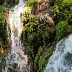 WATERFALL Plitvice Lakes National Park, Floating Frame, Stretched Canvas Prints, Canvas Artwork, Wood Print, Waterfall, Landscape, Nature, Outdoor