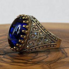 Turkish Jewelry, Fine Jewelry, Men's Jewelry, Statement Rings, Amazing Women, Cuff Bracelets, Jewelery, Sapphire, Rings For Men