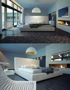 Luxury Bedroom Design With Extraordinary and Contemporary Decor Looks So Cool and Trendy Elegant Bedroom Design, Luxury Bedroom Design, Modern Bedroom Decor, Luxury Decor, Contemporary Bedroom, Bedroom Designs, Contemporary Style, Bedroom Ideas, Conception En Cuir