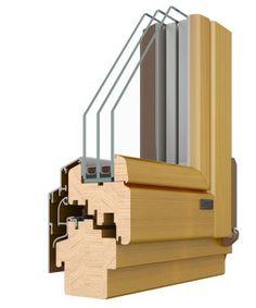 wood windows are classy
