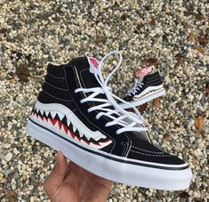 outfits with tie dye vans Bape Vans, Sk8 Hi Vans, Bape Sneakers, High Top Sneakers, Custom Vans, Custom Shoes, Leopard Vans, Tie Dye Vans, Rainbow Vans