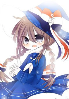 Tags: Anime, Wadanohara and the Great Blue Sea, Wadanohara, Twin Braids