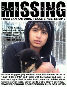 79 Best Texas Missing & Unidentified Persons images in 2017 | Cold