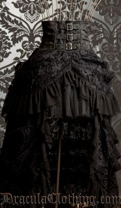 steampunk skirt | Steampunk Bustle Skirt | Steampunk clothes and whatnot