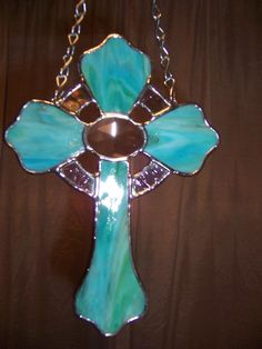Celtic cross - Glassy Ladies Stained Glass Art