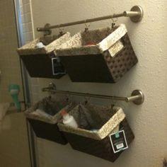 Bathroom Storage Ideas Small Bathroom Space Savers Small - Bathroom towel hanging solutions for small bathroom ideas