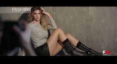 MELISSA SATTA for Bugie - Backstage Adv Campaign 2015 by Fashion Channel