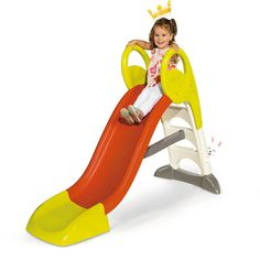 Smoby KS Garden Slide (Medium) Home School Play Toys With Hours Of Play Value #SmobyKSGardenSlide8163