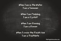 triathlon Phrases   Triathlon Dreams, Triathlete Quotes, Triathlon Quotes, Triathlon ...