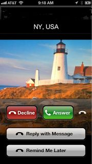 """If you can't answer an incoming call --reply to incoming calls with a text message.  You have to be running iOS 6.  Swipe Upward from the bottom of screen when it is ringing and select """"Reply With Message"""".  You can customize automatic responses - """"I'll call you later"""" or I""""m on my way""""."""