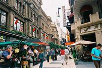 compras em rua florida