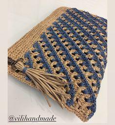 Baby Knitting Patterns, Crochet Patterns, Zara Models, Crochet Baby, Knit Crochet, Crochet Decoration, Crochet World, Jute Bags, Crochet Handbags